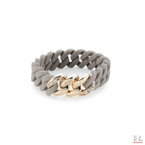 the Rubz Crystal Classic MINI Taupe/Soft gold