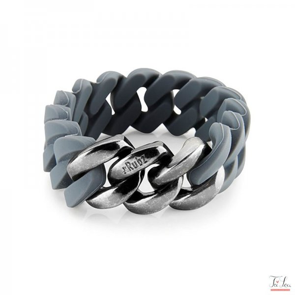 the Rubz Classic 20mm Grey - Ant silver