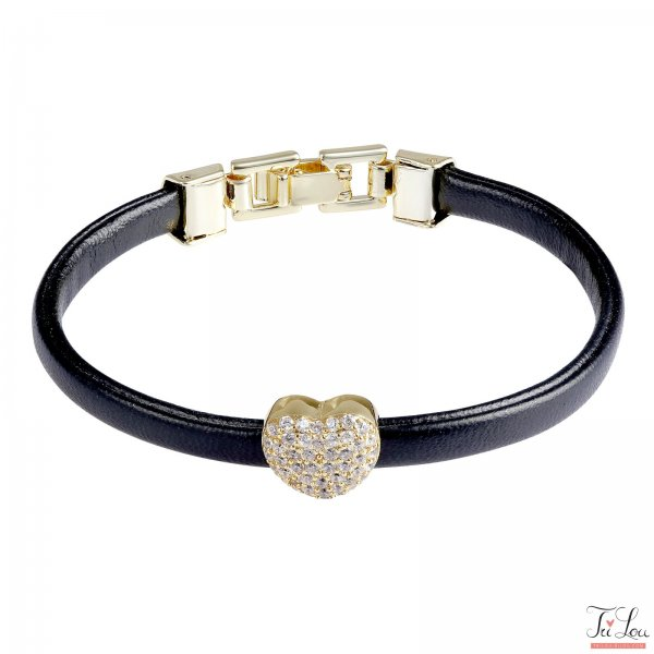 Armband Golden Heart