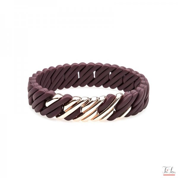 the Rubz Pixelmini F Medium Burgundy/Pink Gold, Herstellernummer: 100511 , EAN: 5713167105116